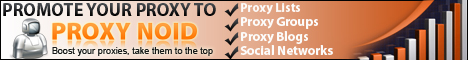 Proxynoid.com - The Ultimate Proxy Promotional Service